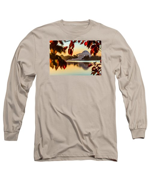 Jefferson In Autumn Long Sleeve T-Shirt