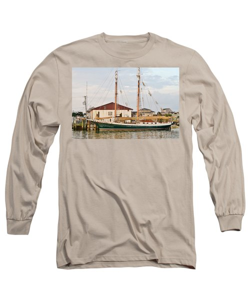 Long Sleeve T-Shirt featuring the photograph The Kaiui Ana - Ocean City Maryland by Kim Bemis