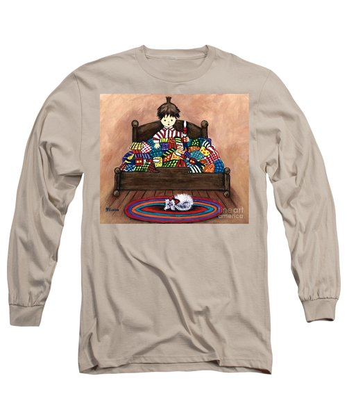 The Land Of Counterpane Long Sleeve T-Shirt