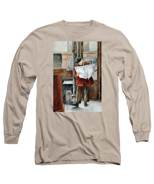 The Latest News Long Sleeve T-Shirt