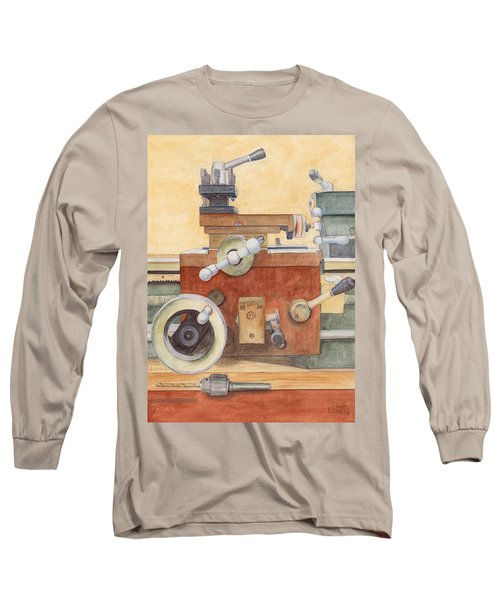 The Lathe Long Sleeve T-Shirt