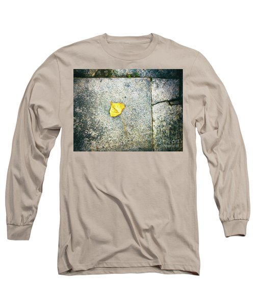 Long Sleeve T-Shirt featuring the photograph The Leaf by Silvia Ganora