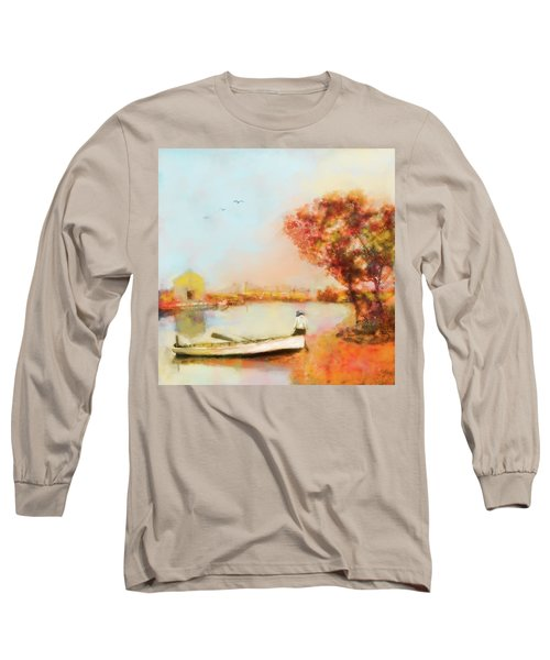 The Life Of A Fisherman Long Sleeve T-Shirt