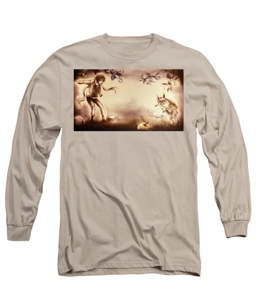 The Little Prince And The Fox Long Sleeve T-Shirt