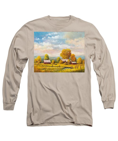 The Lonely Horse Long Sleeve T-Shirt