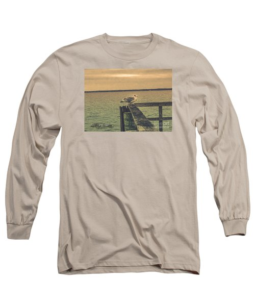 Long Sleeve T-Shirt featuring the photograph The Loner by Melissa Messick