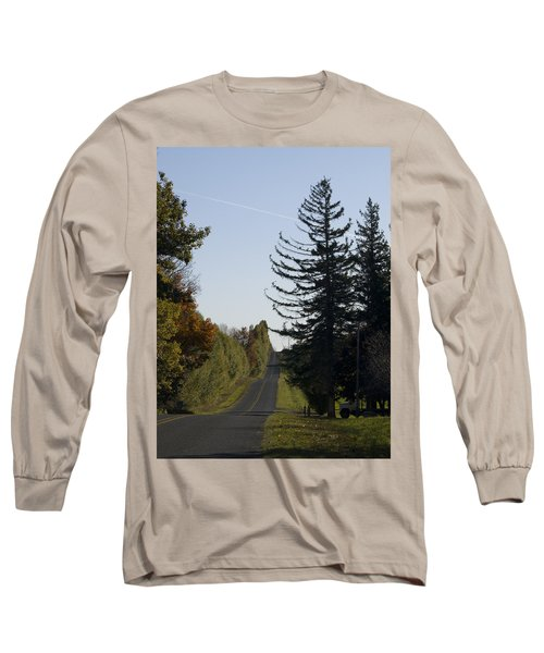 The Long Road Long Sleeve T-Shirt by Tara Lynn