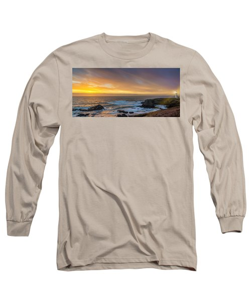 The Long View Long Sleeve T-Shirt by James Heckt