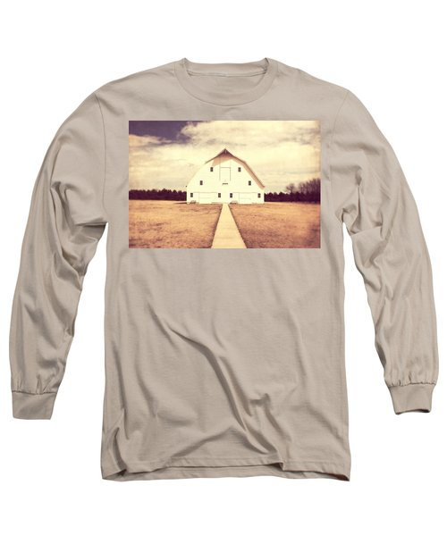 Long Sleeve T-Shirt featuring the photograph The Long Walk by Julie Hamilton