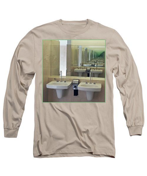 The Looking Glass Long Sleeve T-Shirt by Christopher McKenzie