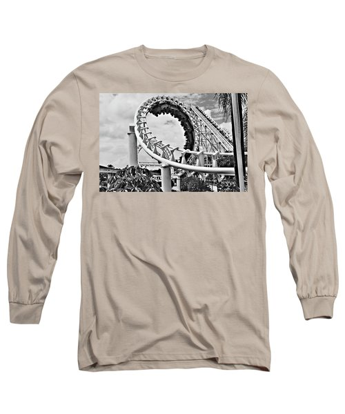 The Loop Black And White Long Sleeve T-Shirt