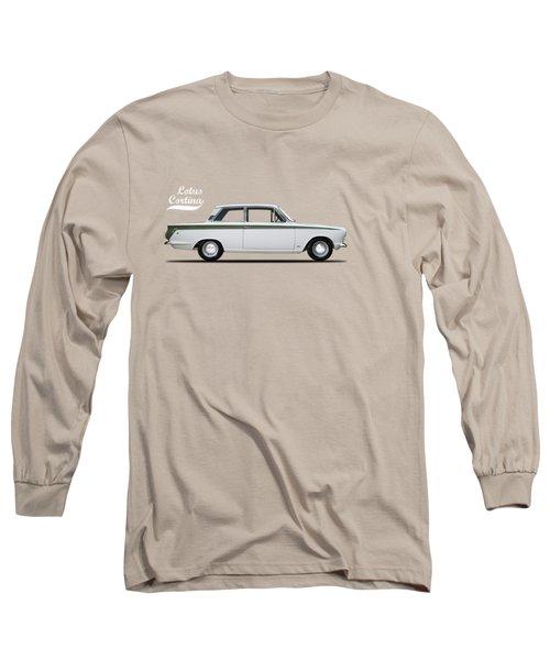 The Lotus Cortina Long Sleeve T-Shirt by Mark Rogan