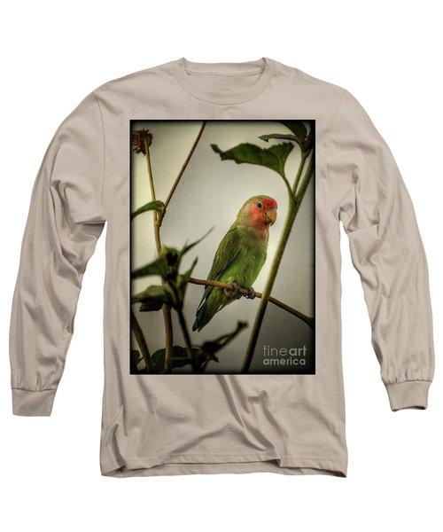 The Lovebird  Long Sleeve T-Shirt by Saija  Lehtonen