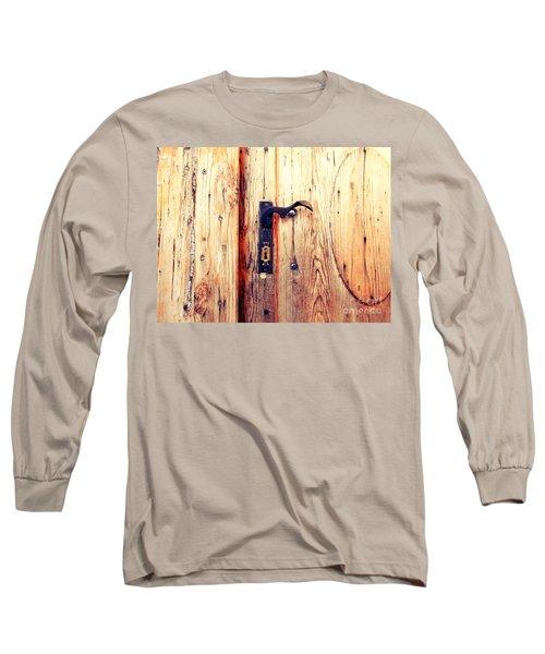 The Lovely Door Handle Long Sleeve T-Shirt
