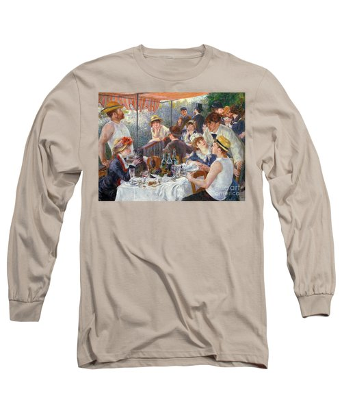 The Luncheon Of The Boating Party Long Sleeve T-Shirt