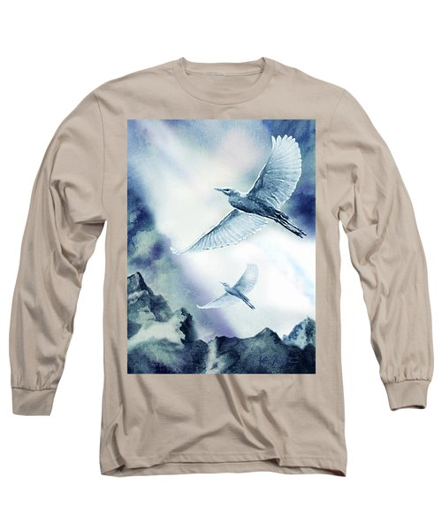 The Magic Of Flight Long Sleeve T-Shirt by Hartmut Jager
