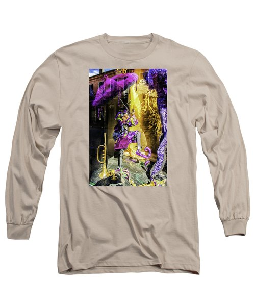 The Mardi Gras Jester Long Sleeve T-Shirt