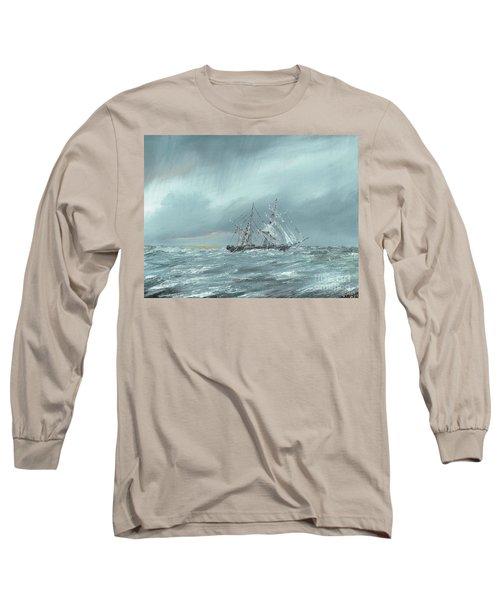 The Mary Celeste Adrift December 5th 1872 Long Sleeve T-Shirt