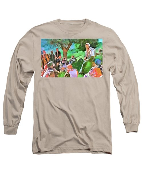 The Master Teacher Long Sleeve T-Shirt by Wayne Pascall