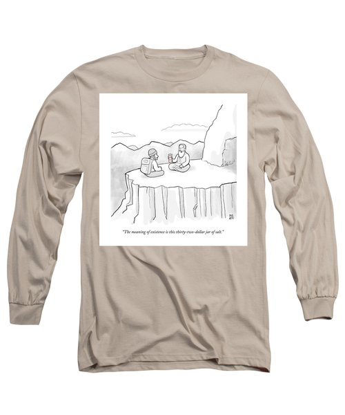 The Meaning Of Existence Is This Jar Of Salt Long Sleeve T-Shirt