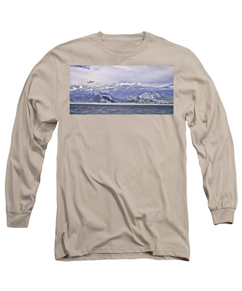 The Mediterranean Coast Long Sleeve T-Shirt