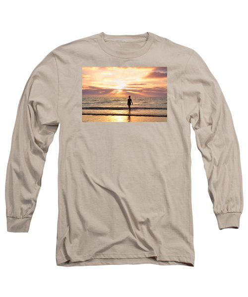 Long Sleeve T-Shirt featuring the photograph The Mermaid by Rima Biswas