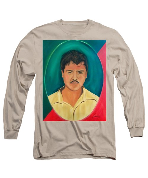 The Mexican Long Sleeve T-Shirt by Manuel Sanchez