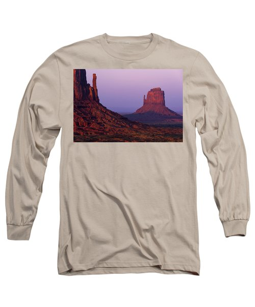 Long Sleeve T-Shirt featuring the photograph The Mittens by Chad Dutson