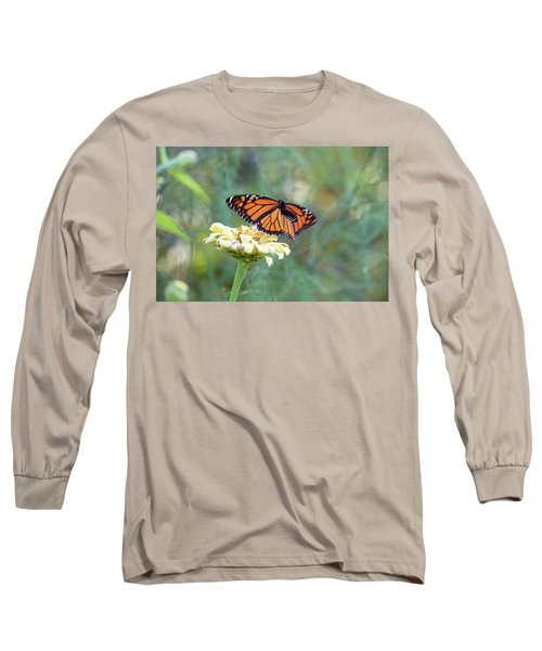 Long Sleeve T-Shirt featuring the photograph The Monarch Has Arrived by Brian Hale