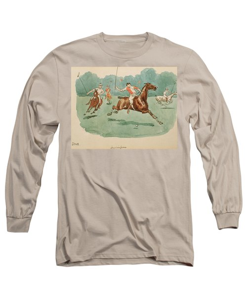 The Month Of June  Polo Long Sleeve T-Shirt