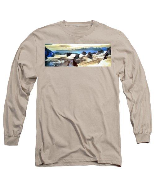 The Mountain Paint Long Sleeve T-Shirt