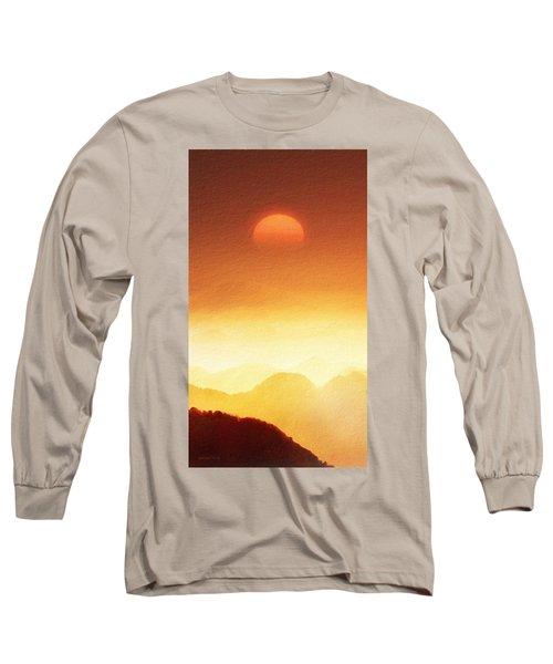 The Mountains  Long Sleeve T-Shirt