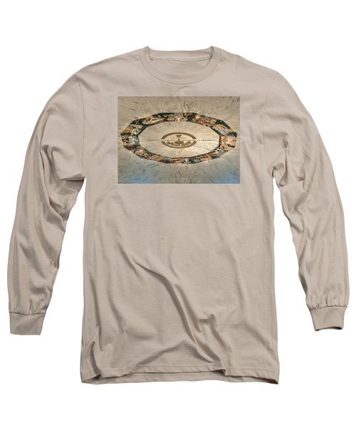 Long Sleeve T-Shirt featuring the photograph The Mural by Mark Dodd