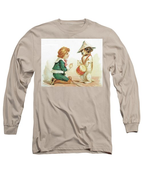 The Musical Pooch Long Sleeve T-Shirt by Reynold Jay