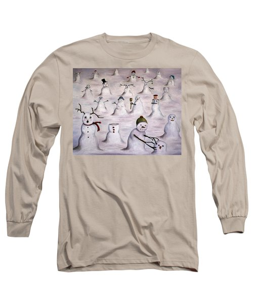 The Mystery Revealed On Snowman Hill Long Sleeve T-Shirt