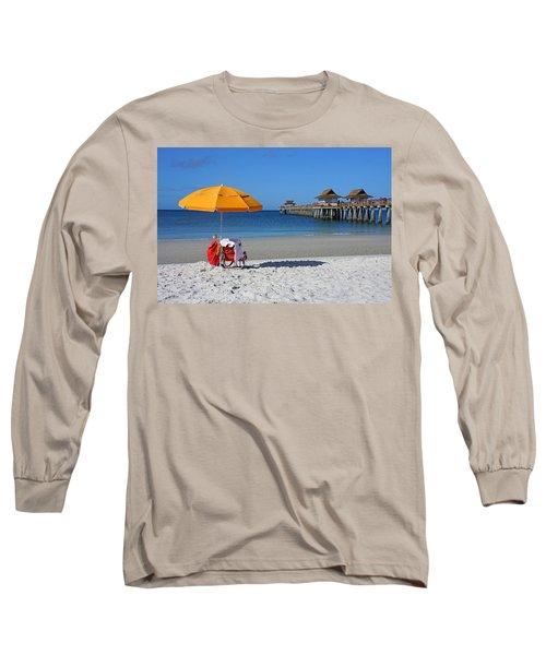 The Naples Pier Long Sleeve T-Shirt