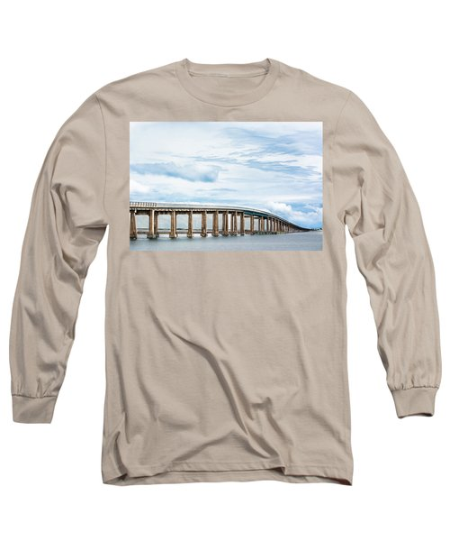 Long Sleeve T-Shirt featuring the photograph The Navarre Bridge by Shelby Young