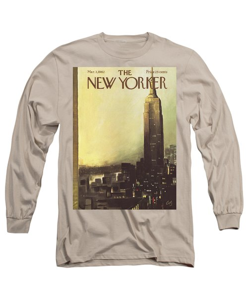 The New Yorker Cover - March 3rd, 1962 Long Sleeve T-Shirt