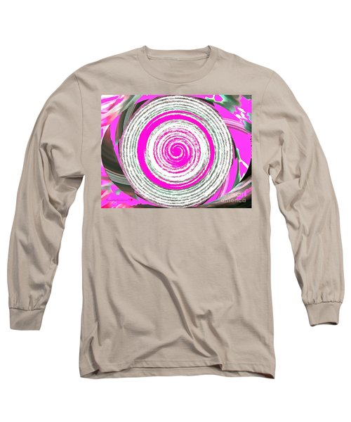 Long Sleeve T-Shirt featuring the painting The Noise by Catherine Lott