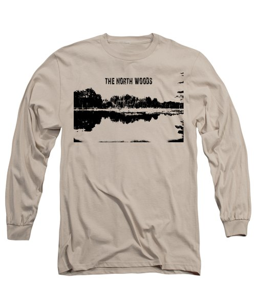 The North Woods Long Sleeve T-Shirt by Mim White