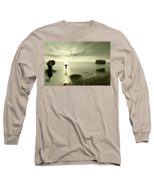 The Northern End Long Sleeve T-Shirt by Nathan Wright