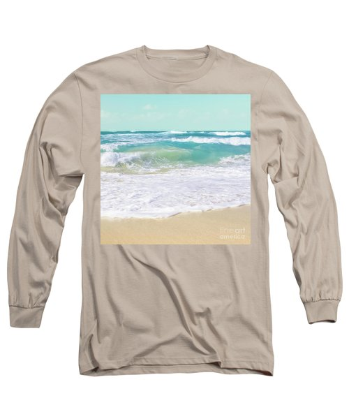 Long Sleeve T-Shirt featuring the photograph The Ocean by Sharon Mau
