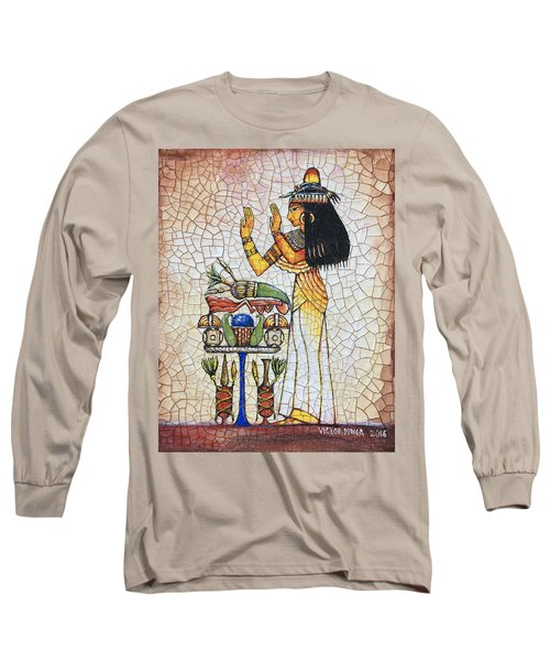 The Offering Long Sleeve T-Shirt by Victor Minca