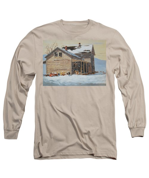 the Old Farm House Long Sleeve T-Shirt