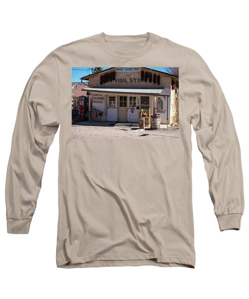 Old Vigil Store In Chimayo Long Sleeve T-Shirt