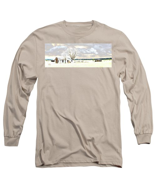 The Old Winter Homestead Long Sleeve T-Shirt
