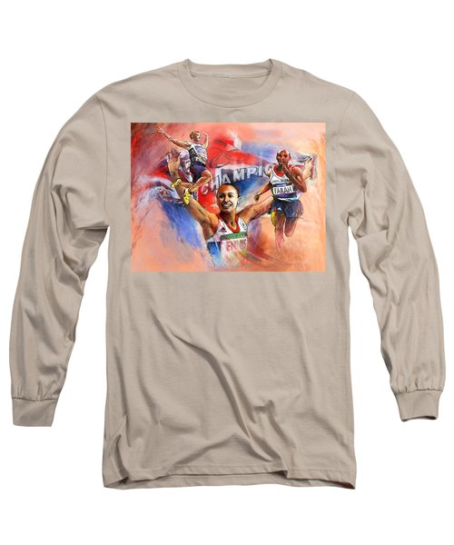 The Olympics Night Of Gold Long Sleeve T-Shirt
