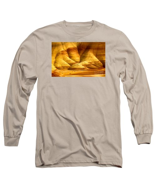 The Painted Hills Long Sleeve T-Shirt by Michael Cinnamond