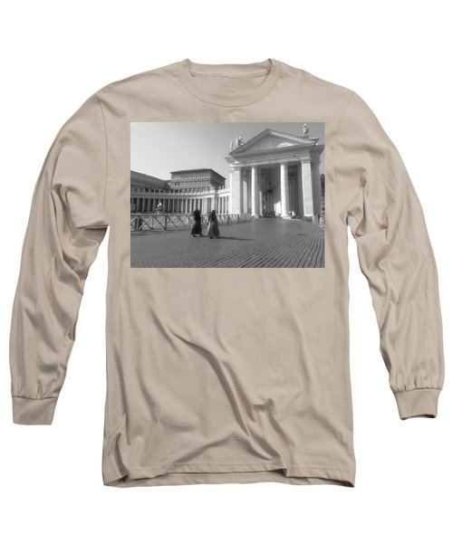 The Path To Temple Long Sleeve T-Shirt