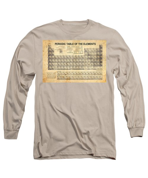 The Periodic Table Long Sleeve T-Shirt